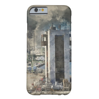 Industrial Watercolor Art Barely There iPhone 6 Case
