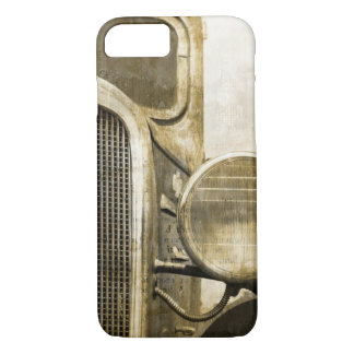 Industrial Western Country Rusty Farm Old Truck iPhone 8/7 Case
