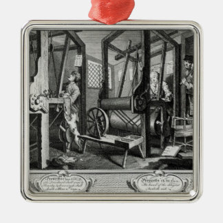 Industry and Idleness Christmas Ornament