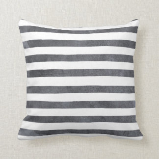 Indy Bloom Design Water Colour Striped Pillow