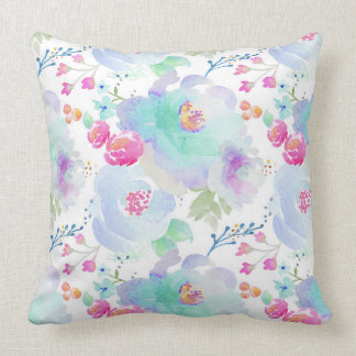 Indy Bloom Floral Blues Pillow