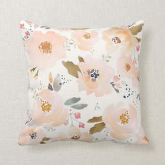 Indy Bloom Peachy Baby Floral Pillow