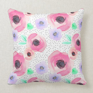 Indy Bloom Polka Rose Pillow