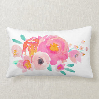 Indy Bloom Watercolor Floral Pillow