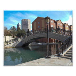 Indy Canal Photographic Print