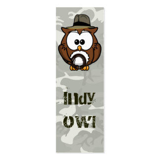 Indy owl business cards