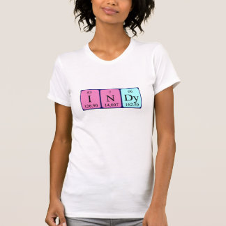 Indy periodic table name shirt
