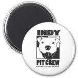 Indy Pit Crew official logo Refrigerator Magnets