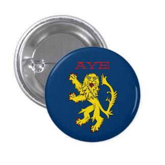 Indy Scotland Lion Rampant Aye Pinback Pinback Buttons