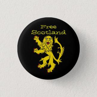 Indy Scotland Lion Rampant Pinback 3 Cm Round Badge