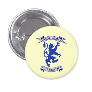 Indy Scottish Lion Rampant Gaelic Badge