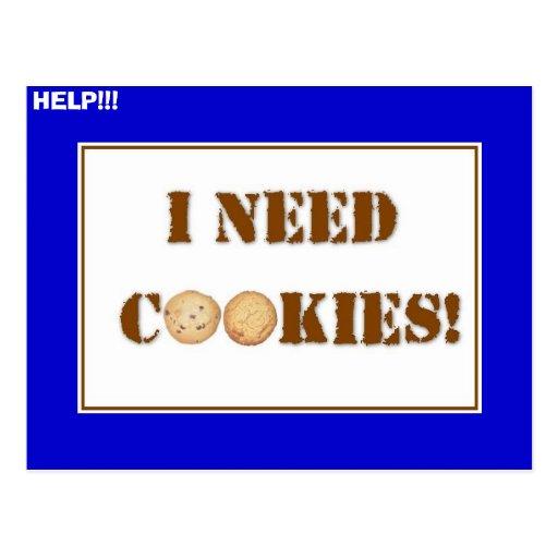 ineedcookies, HELP!!! Postcards