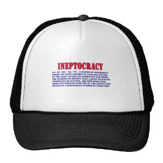 INEPTOCRACY DEFINITION CAP
