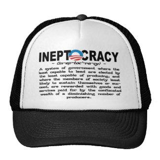 Ineptocracy Definition Hat (black)