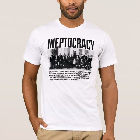 Ineptocracy - Team T-Shirt
