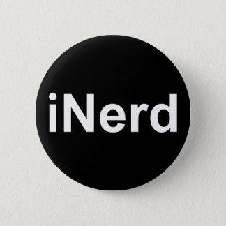 iNerd not iPhone or iPad fun witty humorous Badge