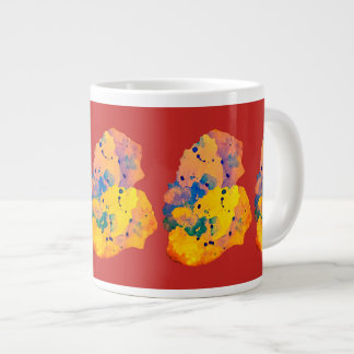 Ines object of andrade large coffee mug