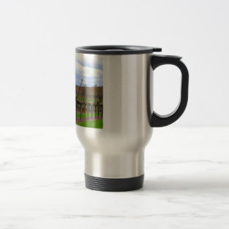 ineyard, Grape vines the French countryside Stainless Steel Travel Mug