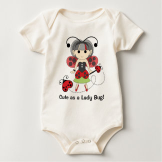Infant and Baby Cute as a Lady Bug Ladybug Fairy T Baby Bodysuit