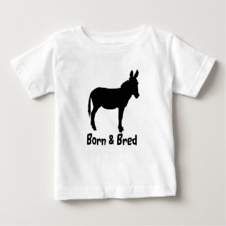 Infant Born & Bred Donkey tshirt various colours