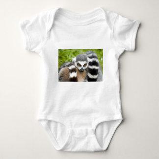 Infant Creeper - Cute Lemur Stripey Tail