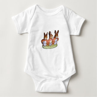 Infant creeper or T-Shirt - Flopsy, Mopsy and Cott