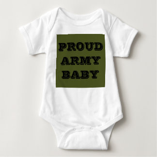 Infant Creeper Proud Army Baby
