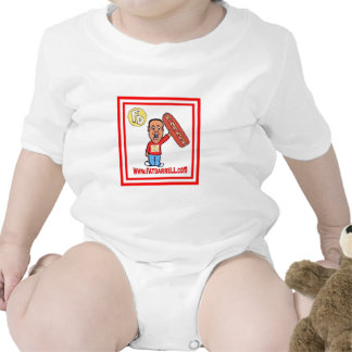 Infant - FD1 One Piece (white) Tshirt
