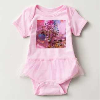 Infant girl one piece pink t-shirts
