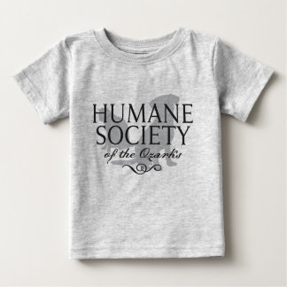Infant Gray Short-Sleeved T-Shirt