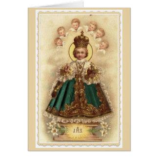 Infant Jesus of Prague Card