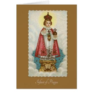 Infant Jesus of Prague Religious Card