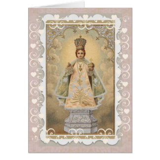 Infant Jesus of Prague Religious Card