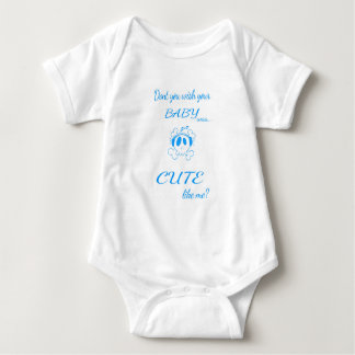Infant Long Sleeve, White Baby Bodysuit