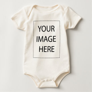 Infant Long SleeveT-Shirt Template Baby Bodysuit