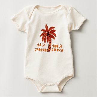 Infant Long SleeveT-Shirt Template - Customized Baby Bodysuit
