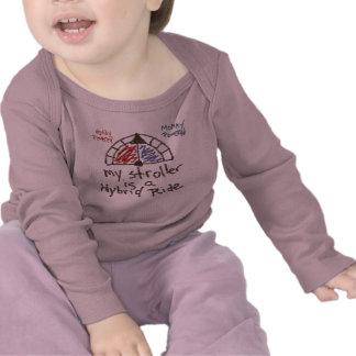 Infant LS - My stroller is a hybrid ride Tshirts