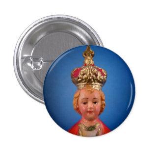 Infant of Prague Button