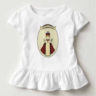 Infant of Prague girls ruffled dress