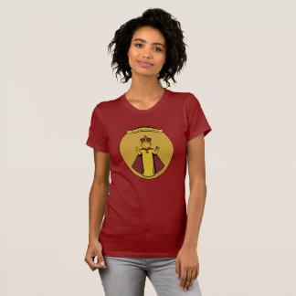 Infant of Prague red women's t-shirt