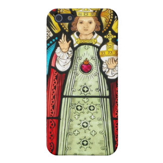 Infant Of Prague Stained Glass Case For The iPhone 5