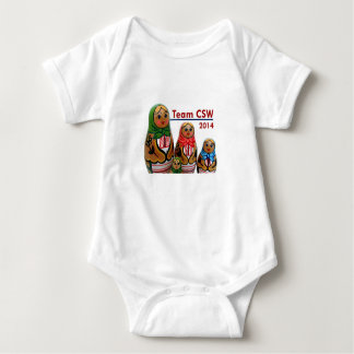 Infant One Piece Creeper, Team CSW T Shirts