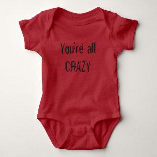 Infant onsie / one piece baby bodysuit