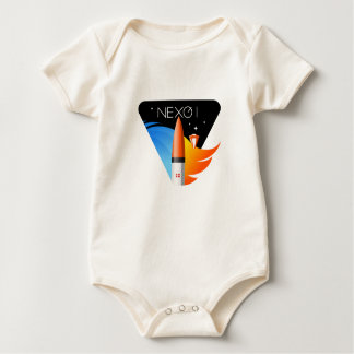Infant Organic Creeper With Nexø Mission Patch
