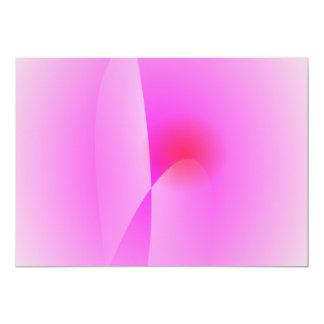 Infant Pink 13 Cm X 18 Cm Invitation Card