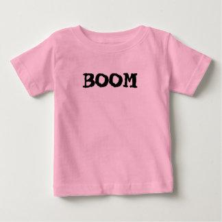 Infant Pink Shirt BOOM Logo