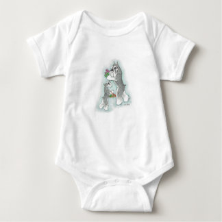 Infant Romper Schnauzer Mom & Baby Baby Bodysuit