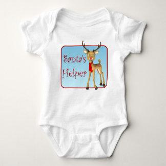 Infant Santa's Helper Holiday Reindeer T-Shirt