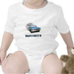 Infant Shirt with Chevy II Classic Car Design