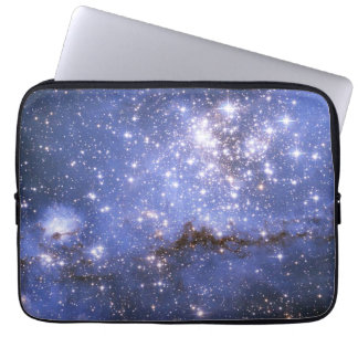 Infant Stars in Neighboring Galaxy Computer Sleeves